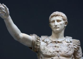Imagem: Primeiro imperador romano, Otávio Augusto